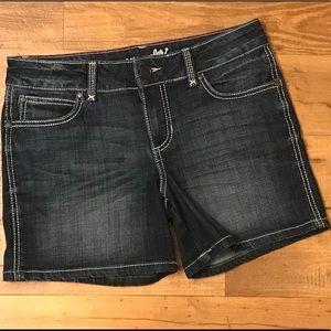 WRANGLER Dark wash shorts